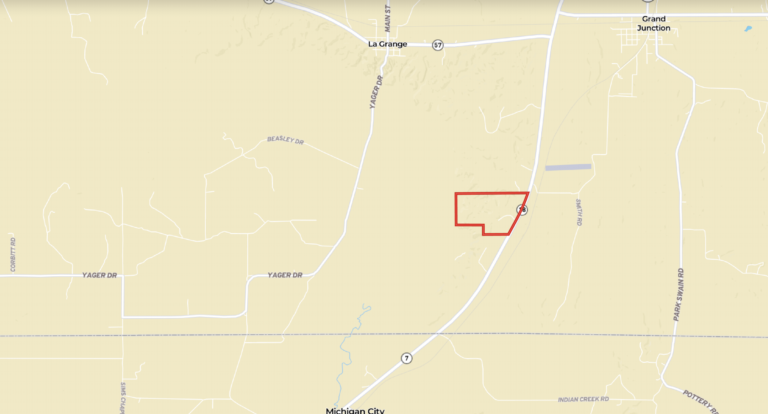 Map of Highway 18 Tract
